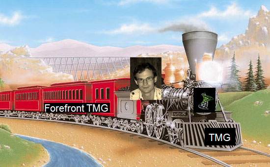 Паровоз Артема Синицына Forefront TMG 2010