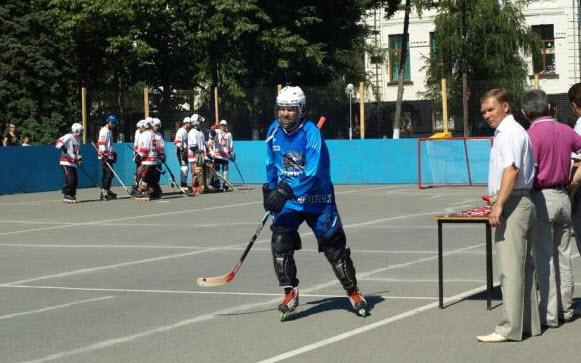 Я хоккеист