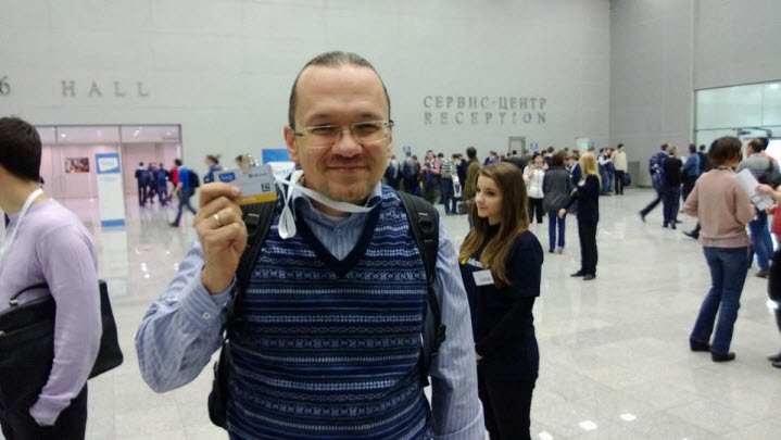 Павел Нагаев на конференции TechEd 2012